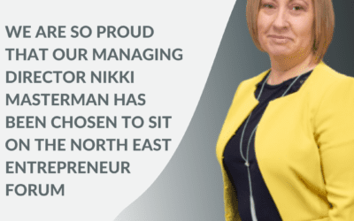 ⭐ Inspired HR is beyond proud to share the news that Nikki has been chosen to sit on the Entrepreneurs' Forum ⭐